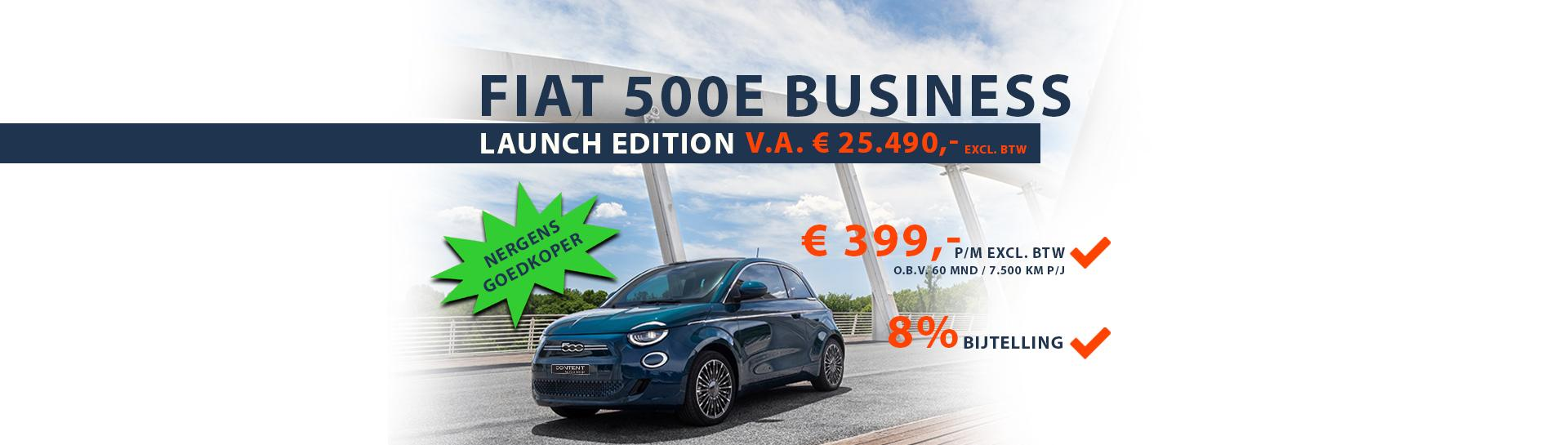 Fiat | 500E Business Launch Edition