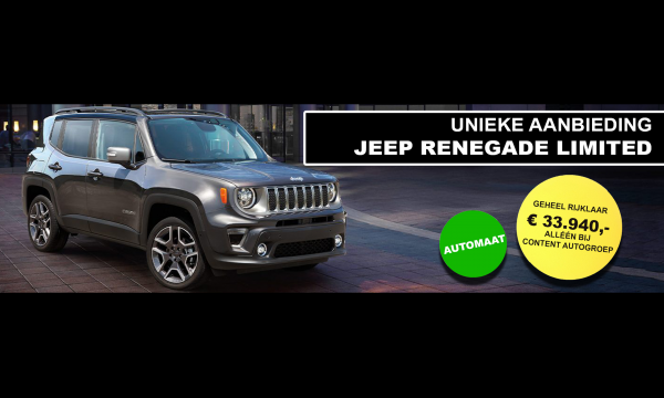 Jeep  |  Renegade Limited